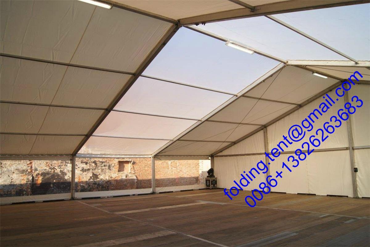 高棈密工业帐篷 80x500m 精密的仓储篷房  1