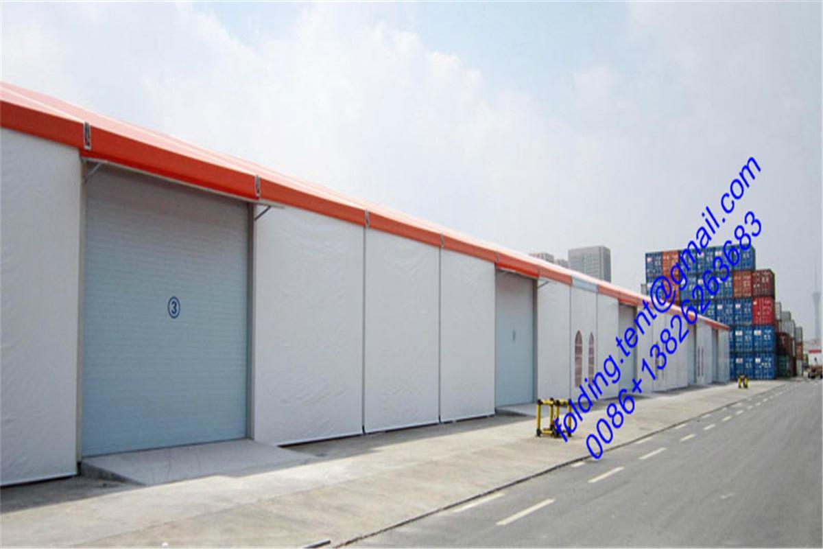 现代工业帐篷 40x90m 仓储篷房 122届广州交易会展览帐篷 3