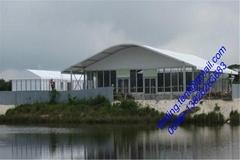 新品上市 大型航空帐篷,移动蓬房 25x60m