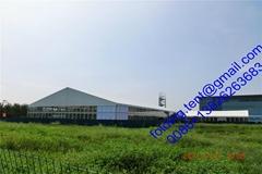 供应新品上市 大型航空帐篷,移动蓬房 25x60m