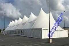 中國   帳篷30x40m,多拱形篷房鋁合金劊造.