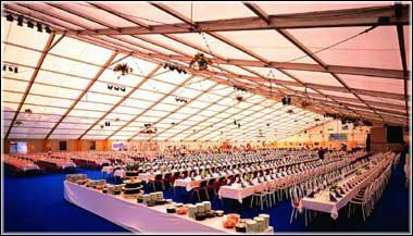 同奔驰一样品质的体育赛事帐篷  尖顶篷房 仓储篷房,医院专用 5