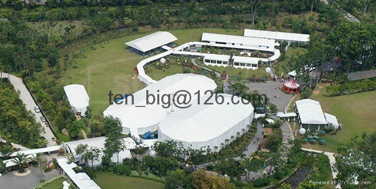 供应铝合结构展览帐篷,多边形篷房,大型活动帐篷  4