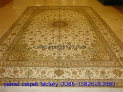 The Canton Fair wholesale supply Persian hand-made scarpets,size