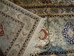 至尊优质天然蚕丝波斯地毯12x18ft 美国地毯
