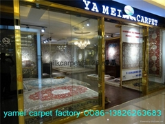 藝朮挂毯 手工真絲地毯 波斯地毯   地毯收藏