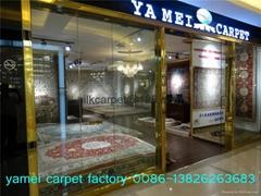 Top collection art tapestry handmade silk Persian carpet