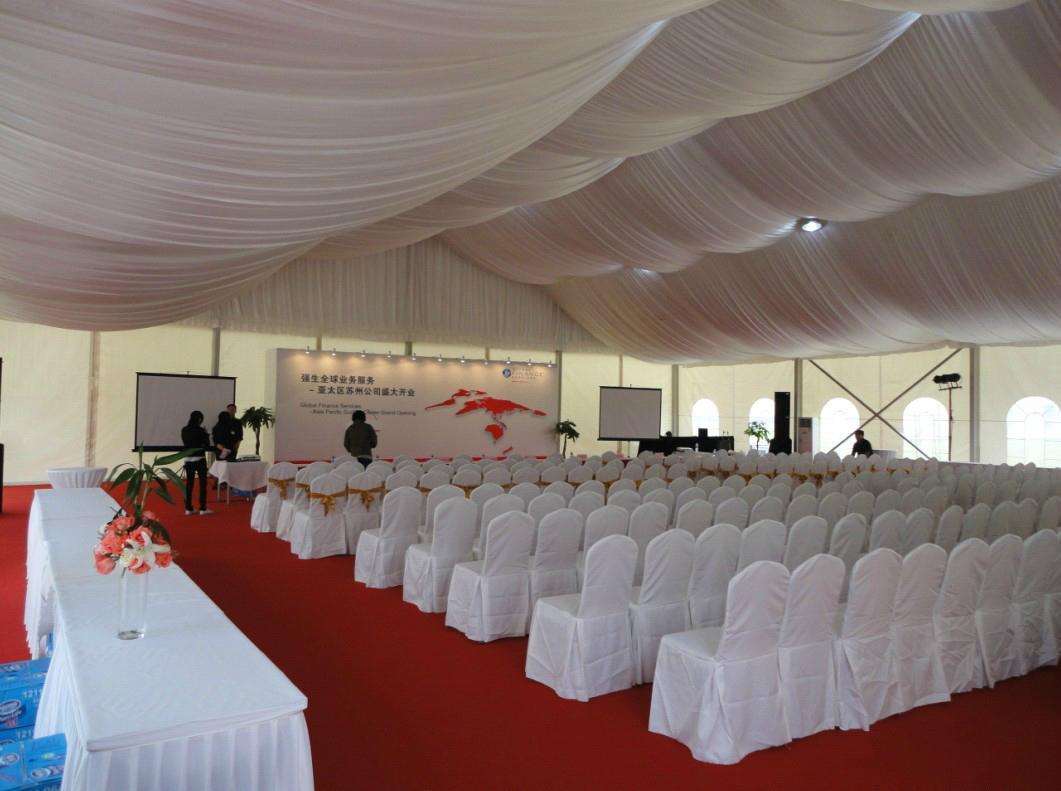 Supply aluminum alloy 50x150m large tent mobile tent 1