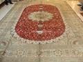 中國最好的天然染色波斯地毯 祈