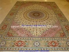 波斯地毯-財富的象征,天上人間精彩亞美地毯