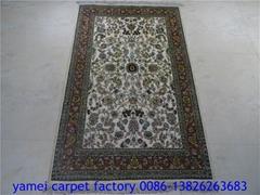 珍贵的手工艺术挂毯 真丝挂毯 以色列波 斯地毯