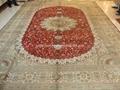 生產特大型手工波斯地毯151x