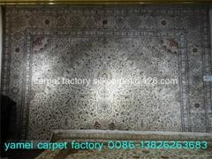 A respected handmade silk carpet manufacturer