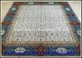 令世界惊呀的手工织造真丝地毯厂