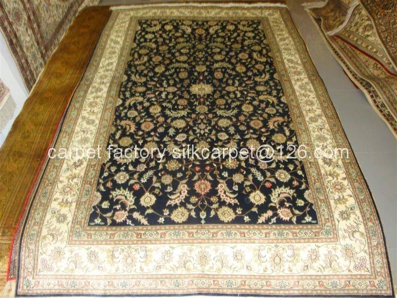 亚美手工波斯地毯 真丝地毯 6x9 ft 专业生产美国高级客厅 3