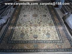 波斯富貴水洗波斯地毯 金絲挂毯 -你財富的象征 (熱門產品 - 1*)