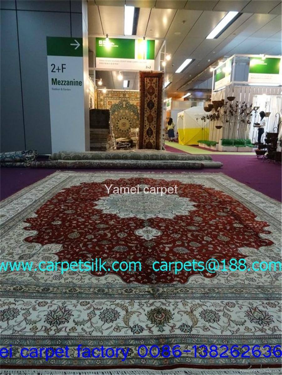 伟人象佂的地毯/挂毯,富人的可望拥有手工地毯 1