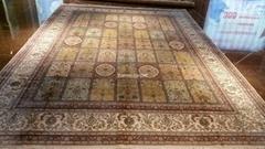 與奔馳/蘋果iPhone同級的 高級手工打結真絲地毯 波斯地毯-廣交會