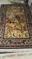 124届广交会优恵金丝挂毯 天然植物丝绸挂毯 2