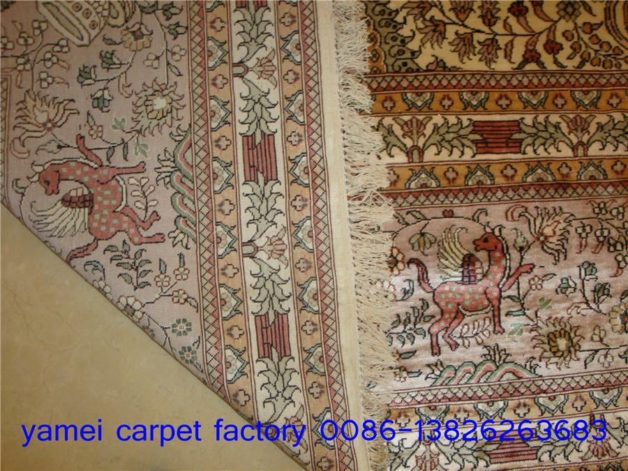 Yamei carpet factory, the best large-scale manual silk carpet manufacturer 2