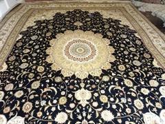 新设计手工真丝艺术地毯 高档奢华地毯