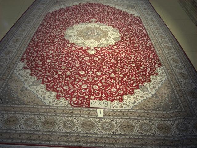 尺寸12x18英尺 中国   波斯地毯 1