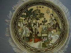 亞美匯美生產    900L 2x2ft藝木挂毯 手工挂毯