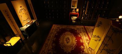 130屆廣交會供應波斯地毯 天然植物染色真愛系列手工地毯  3
