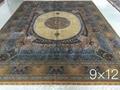guangzhou wholesale new design handmade persian silk carpet 2