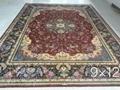guangzhou wholesale new design handmade persian silk carpet 3