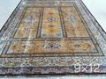 广州批发最新设计手工真丝波斯地毯 3