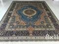 guangzhou wholesale new design handmade persian silk carpet 5