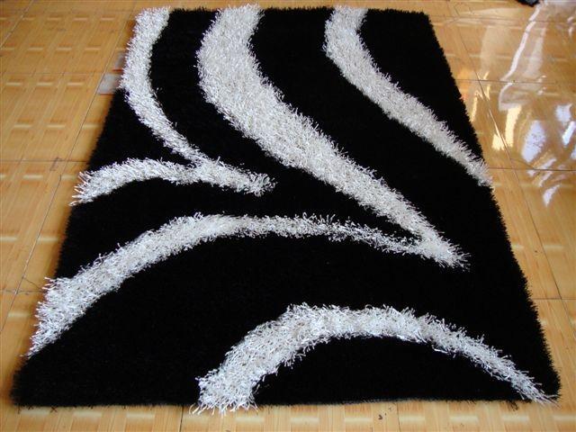 亚美生产长毛冰丝地毯 1