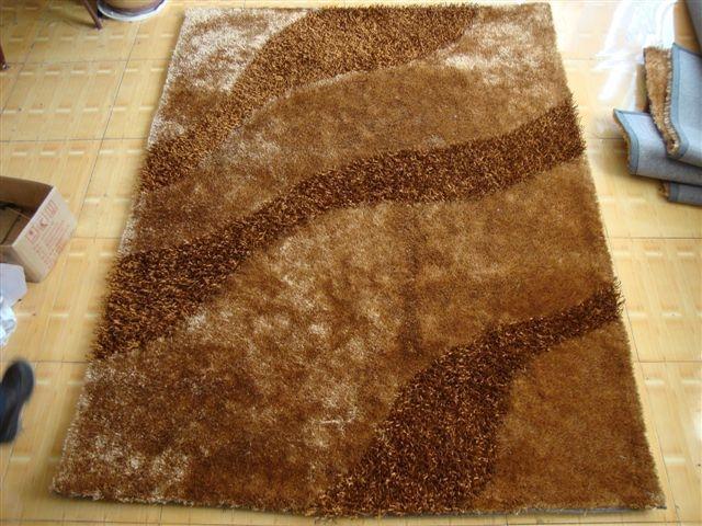 亚美生产长毛冰丝地毯 13