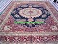 guangzhou handmade factory wholesale silk and wool Persian carpet,13826288657  2
