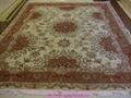 guangzhou handmade factory wholesale silk and wool Persian carpet,13826288657  4