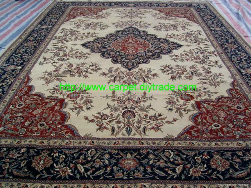 承接高级挂毯订单 生产手工毛合织地毯及挂毯 1
