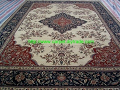 Specializing in the production of custom-made silk and wool carpet/Tapestry