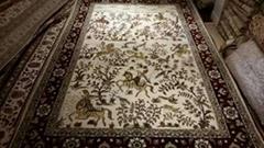 廣州環市中路303號亞美批發手工真絲波斯地毯