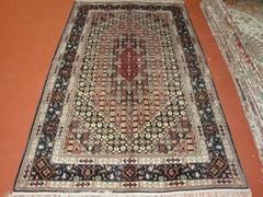 供应波斯丝地毯 手工喀什米尔真丝地毯