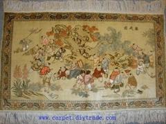 圣涎节买波斯富贵地毯,挂毯,一生平安,吉祥,发财