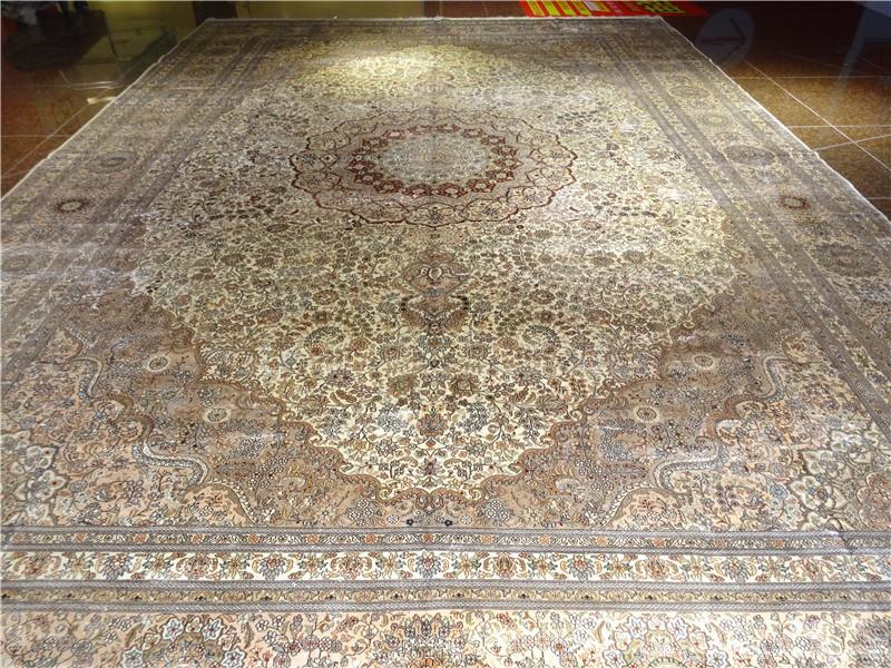 出口欧美纯手工波斯风格  600L 波斯地毯 1