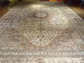 Factory Price Direct Selling Pure Handmade Persian Style Silk Carpet 600L 1