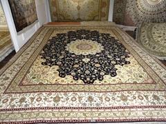 與奔馳同級的手工真絲地毯 波斯-亞美地毯廠生產