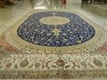與奔馳同級的手工真絲地毯 波斯地毯-亞美地毯廠生產 2