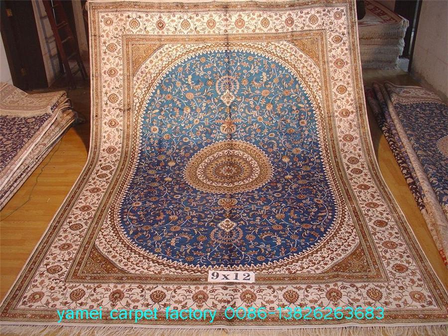波斯富贵 世界公认亚美桑蚕丝手工地毯织的好! 1