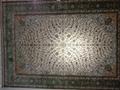 國務院新聞大廳專用地毯,真絲材料 手工織做,波斯圖案,光彩奕人 3