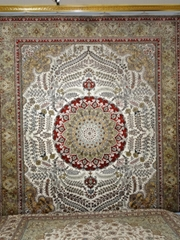 Love handmade carpets, love women is really a rich man