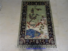 126 session the Canton Fair small persian art Tapestry 2x3 ft