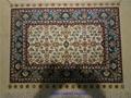 精緻的手工客廳裝飾藝朮絲綢地毯